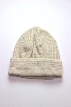 COTTON WAFFLE BEANIE/コットンワッフルビーニー