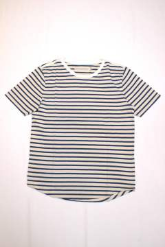 BRUSH BORDER SS TEE/ブラッシュボーダーTEE