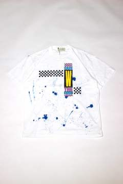 CHECKERED T-SHIRT/グラフィックTee