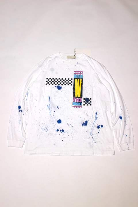 837dcda1cbe CHECKERED L S T-SHIRT グラフィックロングTee Jie-18W-CT15. JieDa