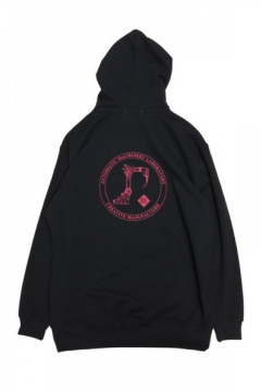CIRCLE GRAPHIC HOODIE/グラフィックプリントパーカー