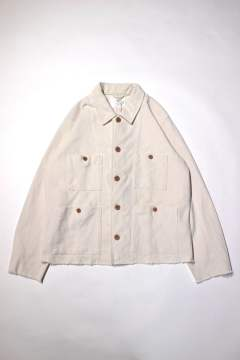 HERRINGBONE COVERALL -CUT THE CLOTH ON THE BIAS-/ヘリンボーン素材カバーオール
