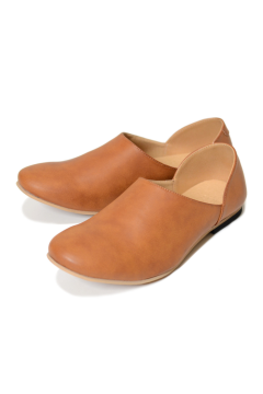 """BABOUCHE""LEATHER FLAT-SHOES/レザーフラットシューズ"