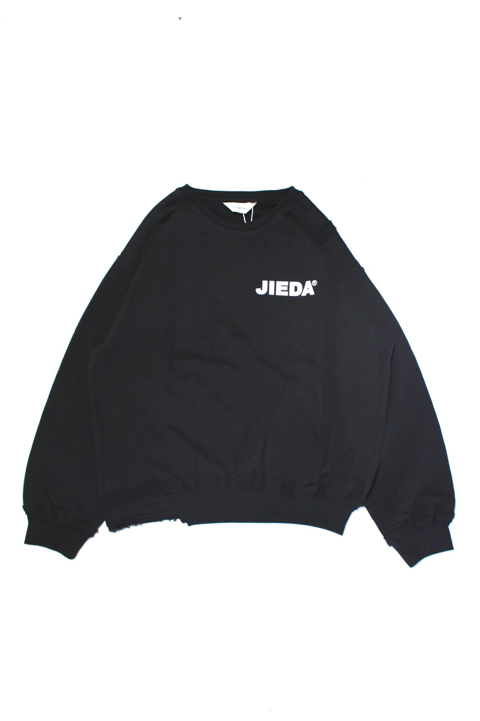 JieDa LOGO SWITCHING SWEAT SHIRT/スウィッチスウェット