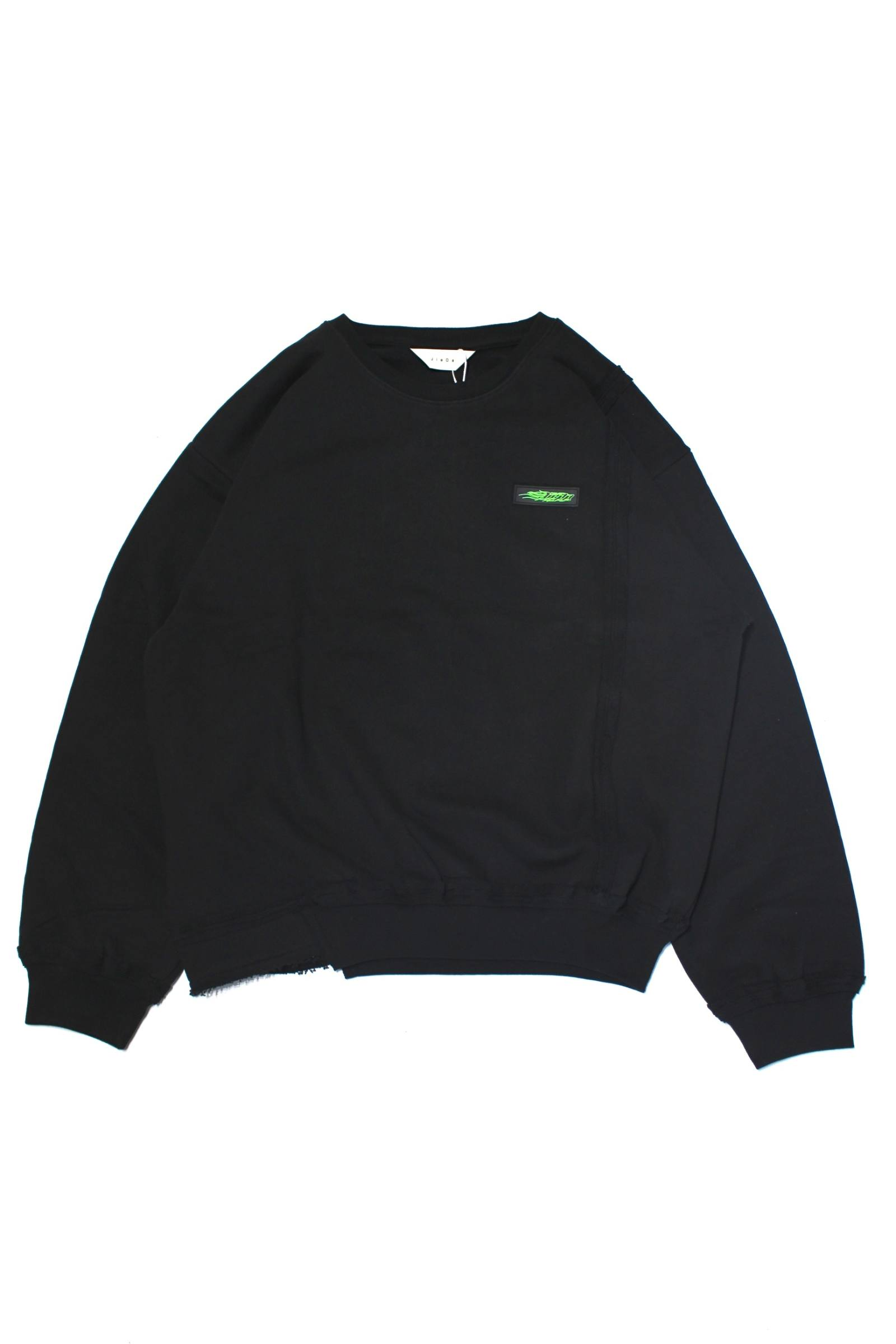 SILICON JieDa LOGO SWITCHING SWEAT SHIRT/スウィッチスウェット