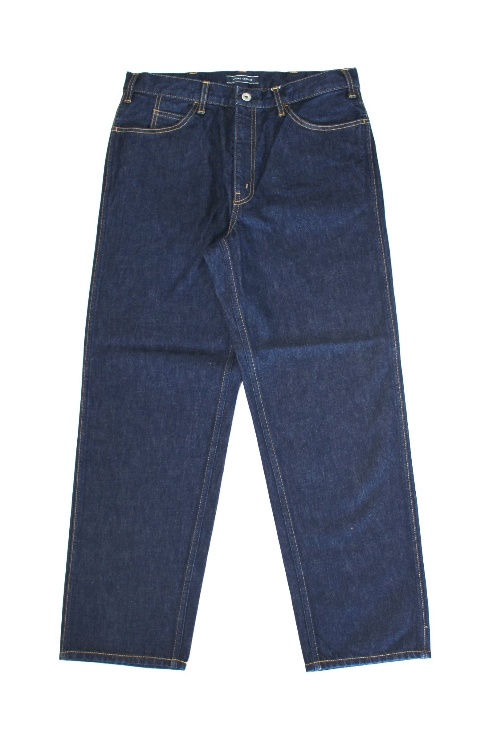 5POCKET WIDE DENIM PANTS(ONE WASH)/ワイドデニムパンツ