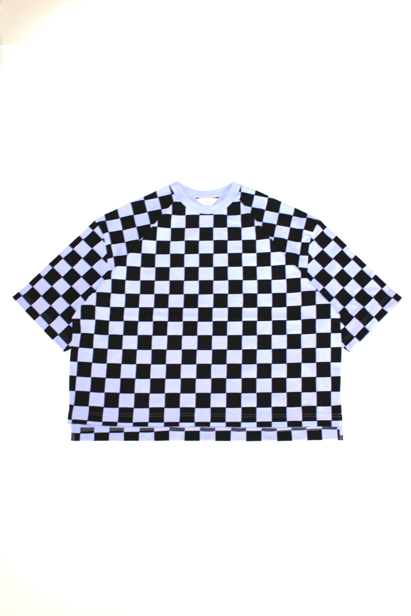 CHECKERED OVER T-SHIRT/チェックオーバーTEE