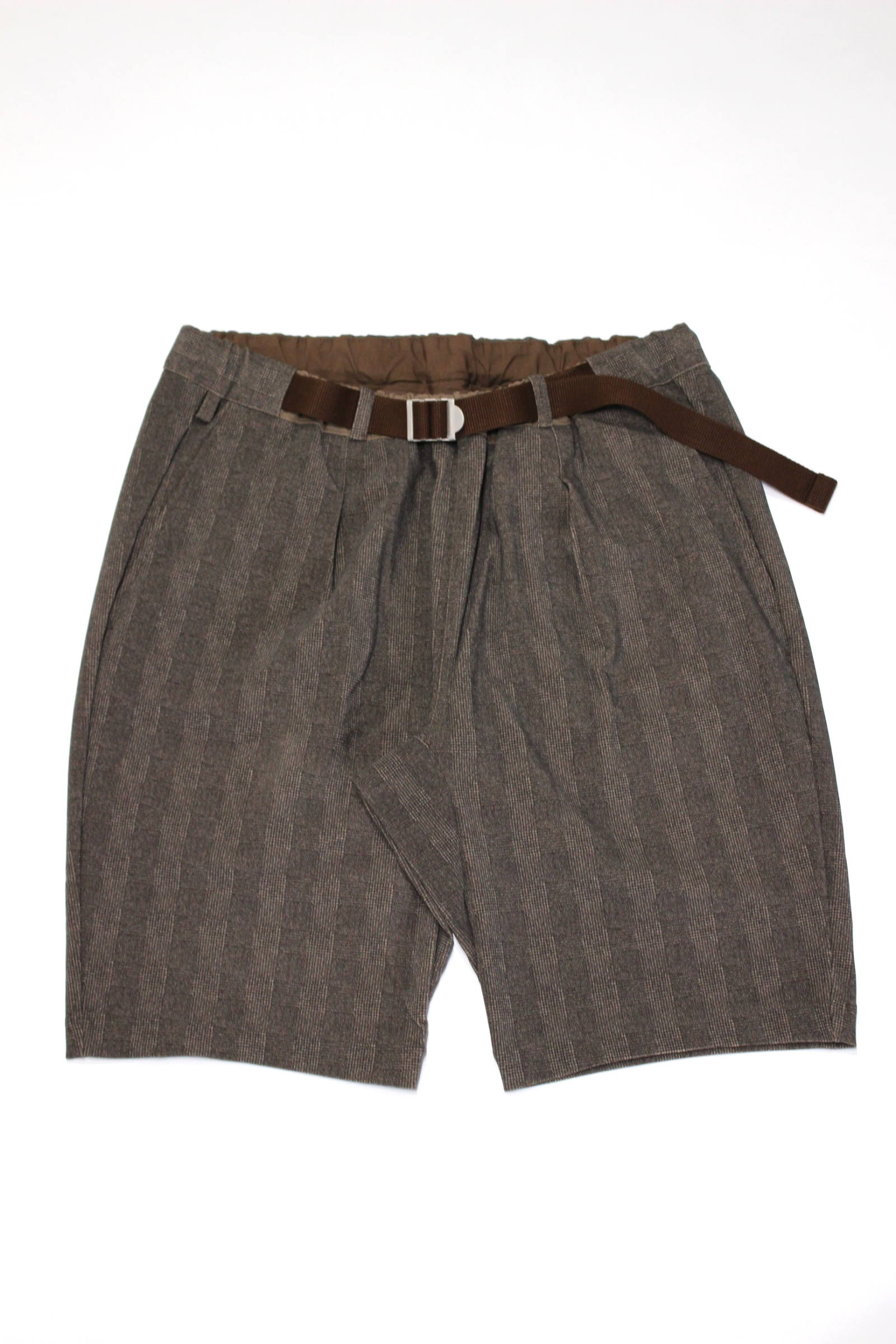 "BRIGHT EZ SHORTS ""GLEN CHECK""/ストレッチショーツ"
